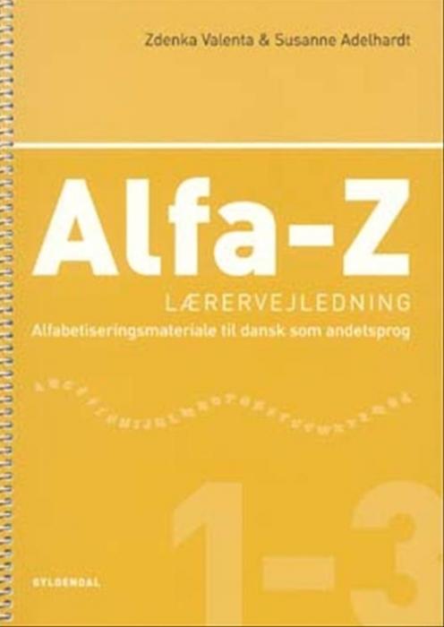 Image of   Alfa-Z 1-3 Lærervejledning (Bog)