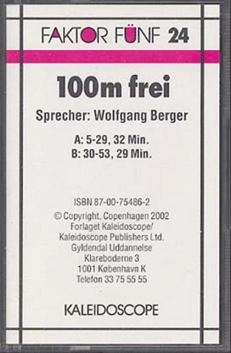 Image of   100m frei, cd (Bog)