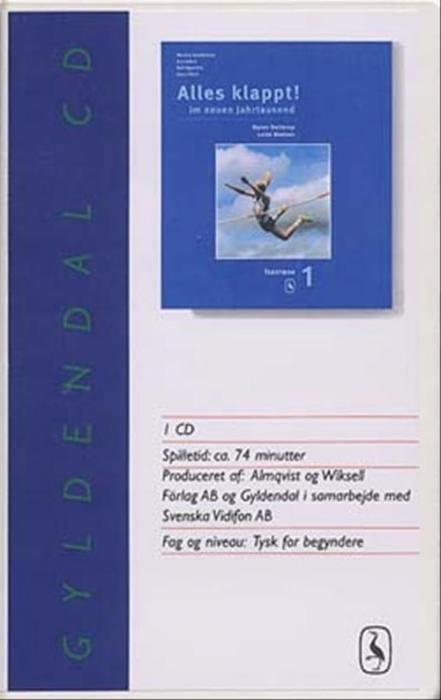 Image of   Alles klappt! 1. Tekstbog cd (Lydbog)