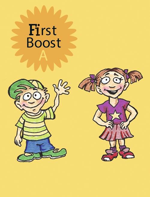 Image of First Boost - A - i-bog (Bog)