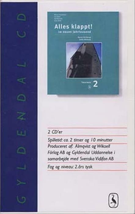 Image of   Alles klappt! 2. Tekstbog cd (Lydbog)