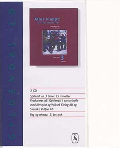 Image of   Alles klappt! 3. Tekstbog cd (Lydbog)