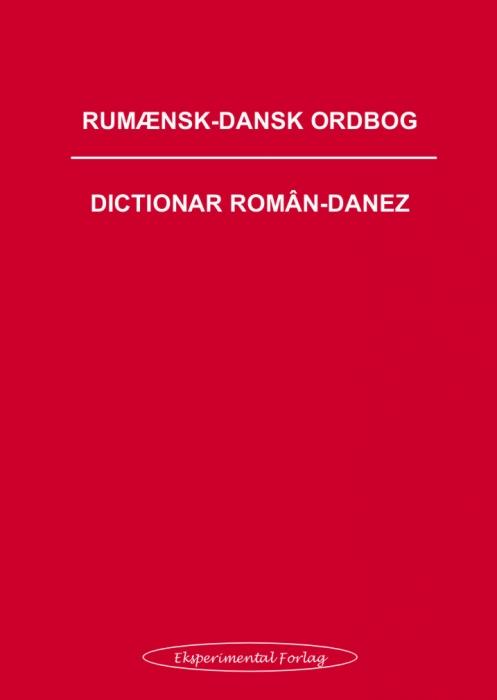 Rumænsk-dansk ordbog (Bog)