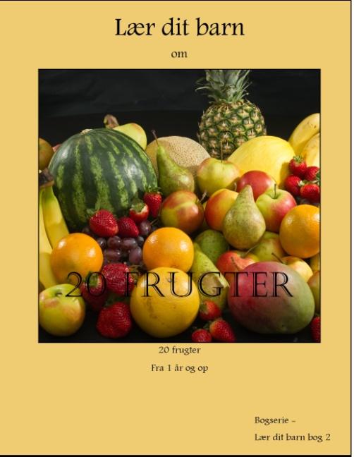 Image of   20 frugter (Bog)