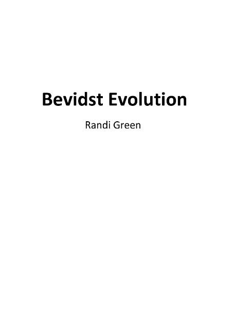 Image of   Bevidst Evolution (Bog)