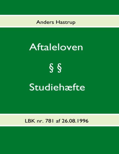 Image of Aftaleloven (Bog)
