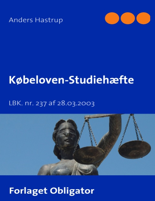 Image of Købeloven - Studiehæfte (Bog)