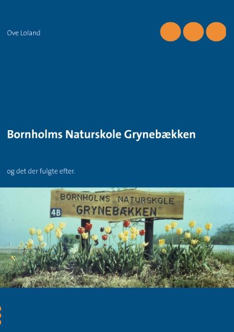 Image of   Bornholms Naturskole Grynebækken (Bog)