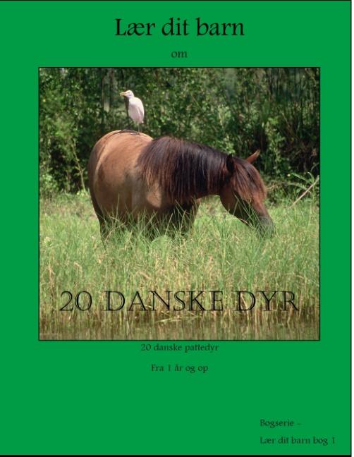 Image of   20 danske dyr (Bog)