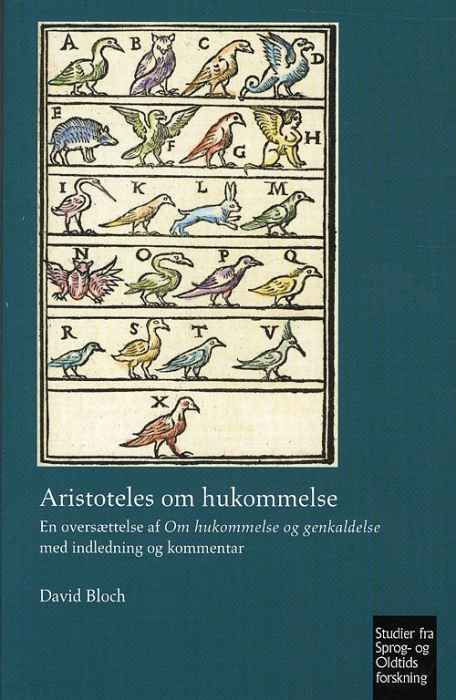 Image of   Aristoteles om hukommelse (Bog)