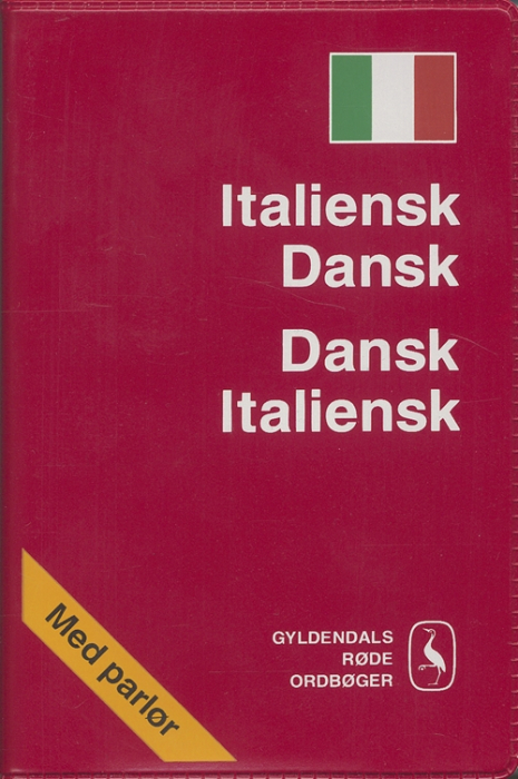 Italiensk-Dansk/Dansk-Italiensk Ordbog (Bog)