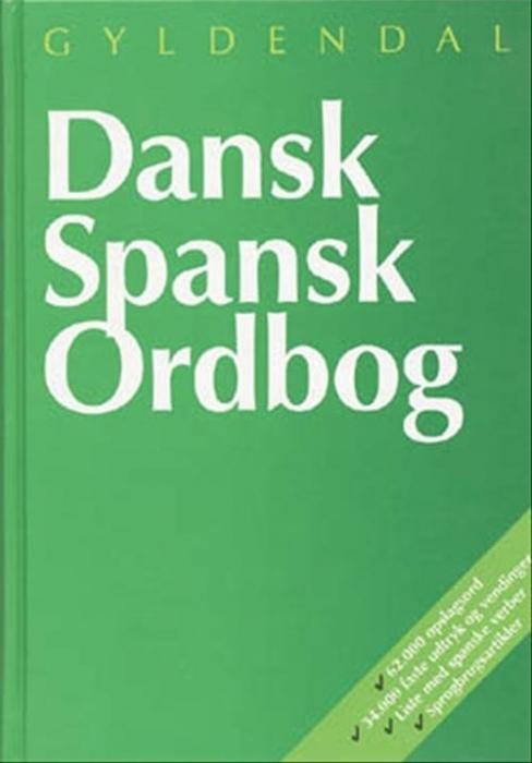 Dansk-Spansk Ordbog (Bog)