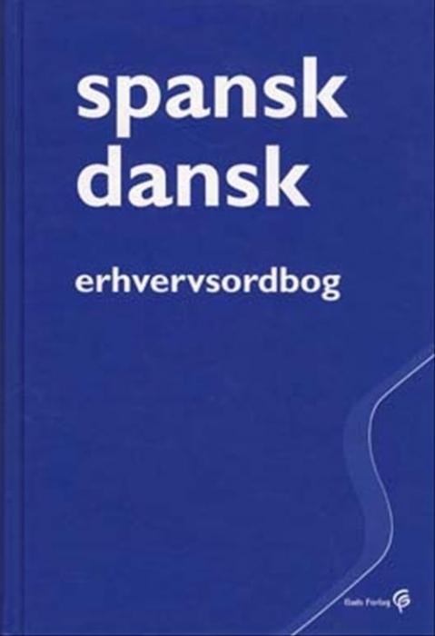 Spansk-dansk erhvervsordbog (Bog)