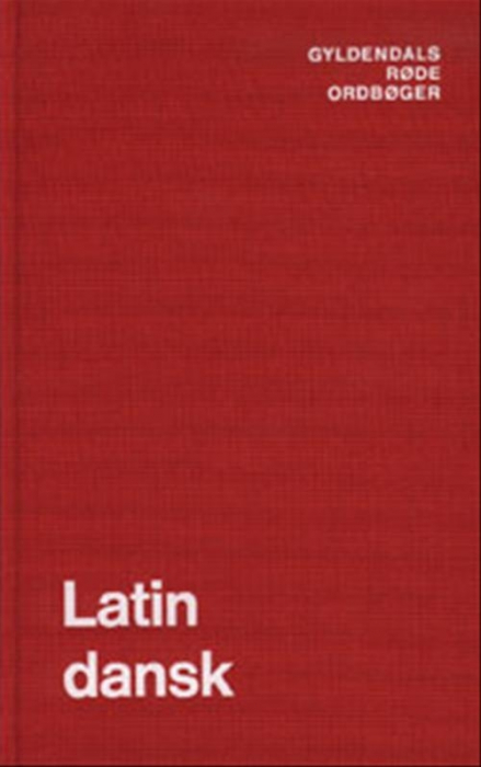 Latin-Dansk Ordbog (Bog)