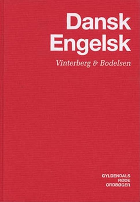 Dansk-Engelsk Ordbog (Bog)