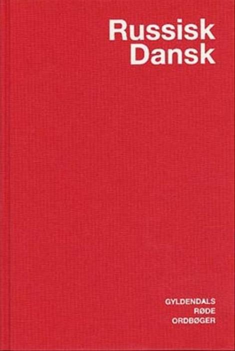 Russisk-Dansk Ordbog (Bog)