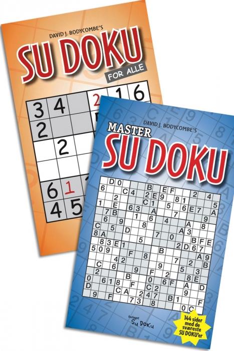 SAMPAK. SUDOKU FOR ALLE + MASTER..  SUDO (Bog)