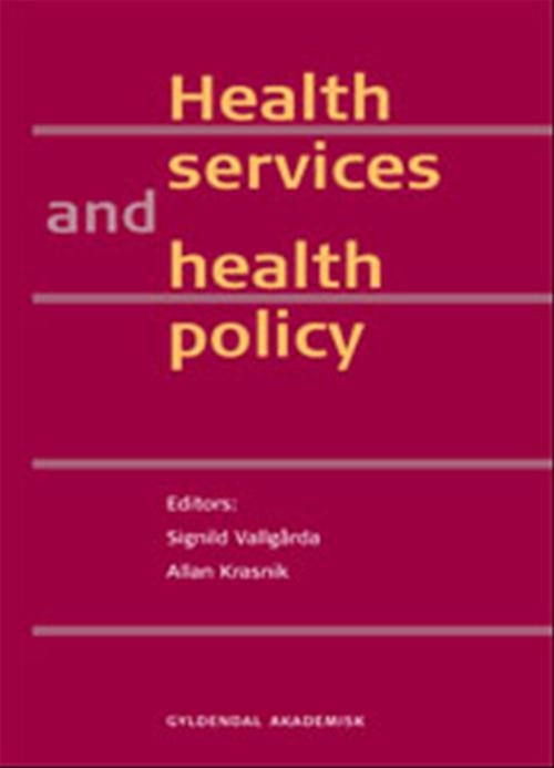 Image of Health services and health policy (E-bog)