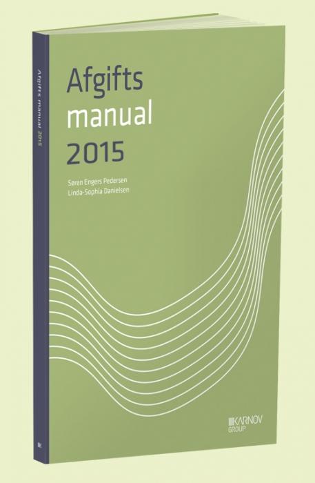 Image of   AfgiftsManual 2015 (Bog)
