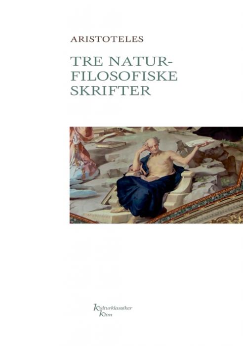 Image of Tre naturfilosofiske skrifter (Bog)