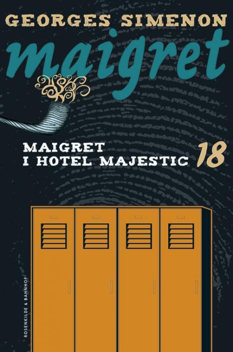 Maigret 18 Maigret i hotel Majestic (Bog)
