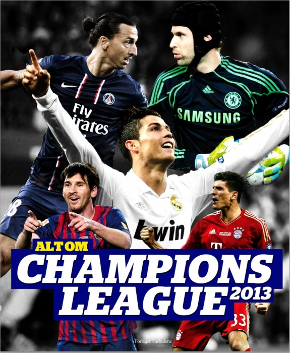 Image of   Alt om Champions League 2013 (Bog)