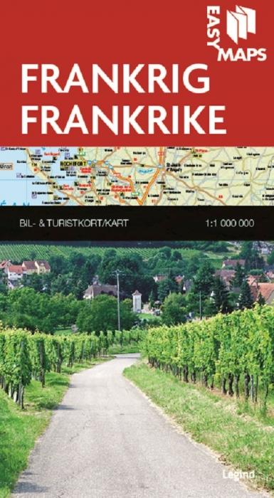 Easy Maps - Frankrig (Bog)