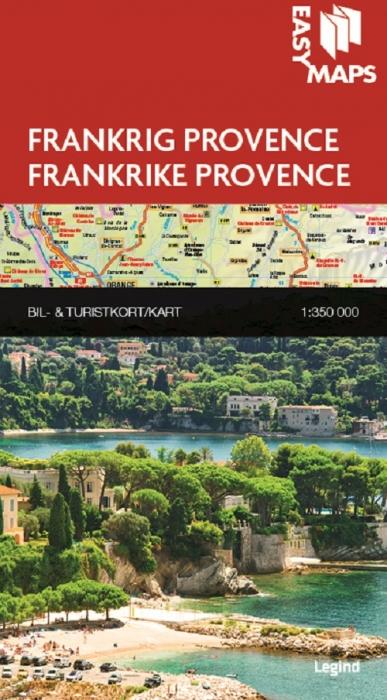 Easy Maps - Provence (Bog)