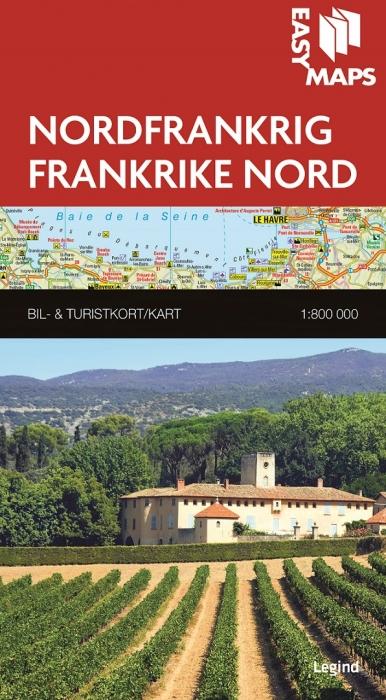 Easy Maps - Nordfrankrig (Bog)
