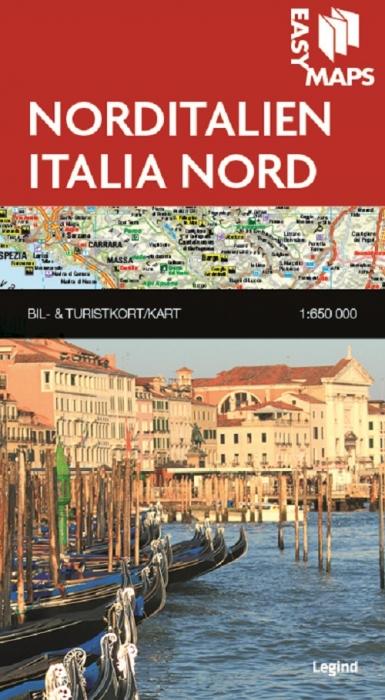 Easy Maps - Norditalien (Bog)