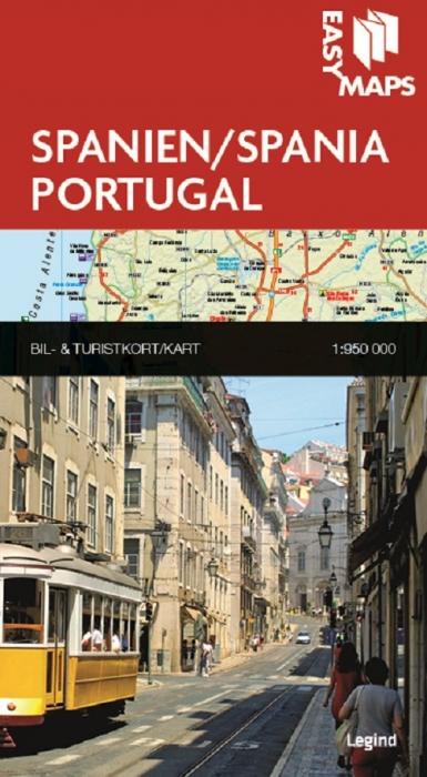 Easy Maps - Spanien og Portugal (Bog)