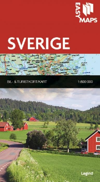 Easy Maps - Sverige (Bog)