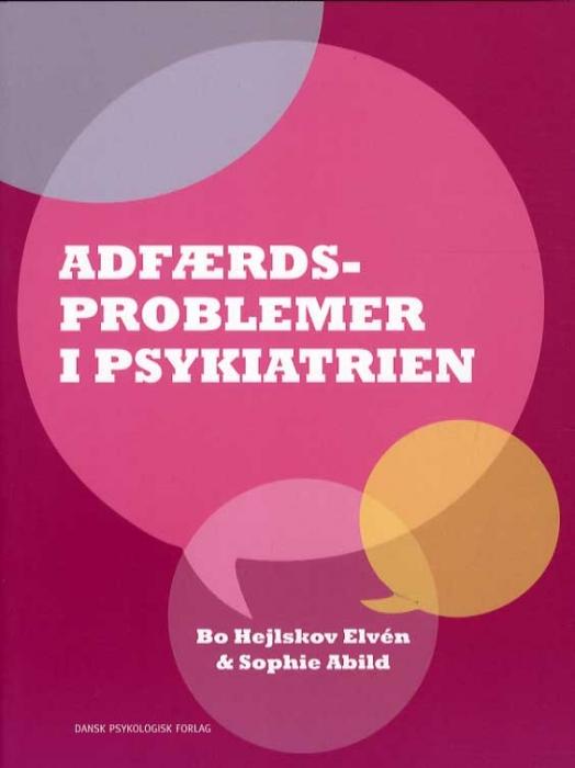 Image of   Adfærdsproblemer i psykiatrien (Bog)