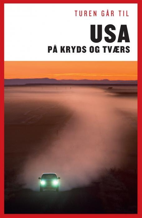 Turen Går Til USA på kryds & tværs (E-bog)
