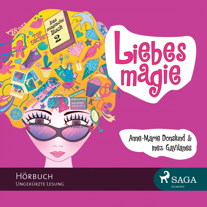 Image of Das magische Buch 2 - Liebesmagie (Lydbog)