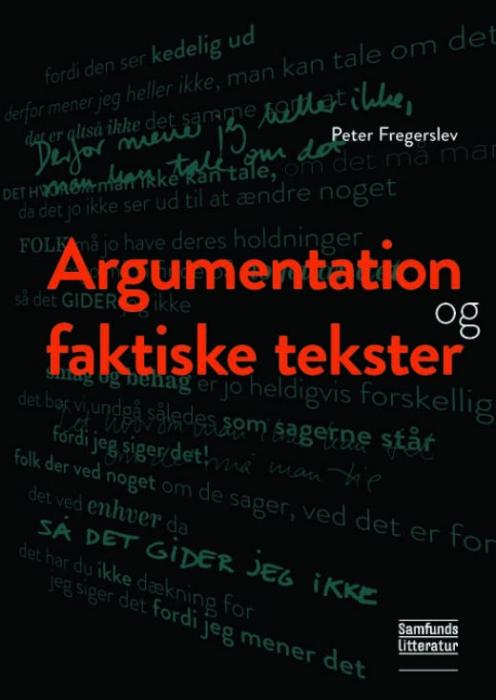 Image of   Argumentation og faktiske tekster (E-bog)