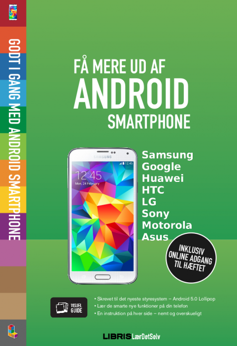 Få mere ud af Android smartphone - 5.0 Lollipop (E-bog)