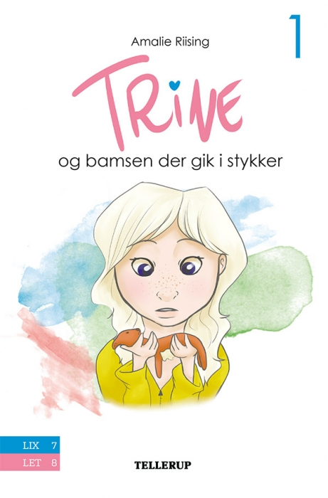 Image of Trine #1: Trine og bamsen der gik i stykker (Bog)