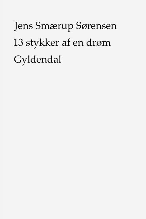 Image of   13 stykker af en drøm (E-bog)