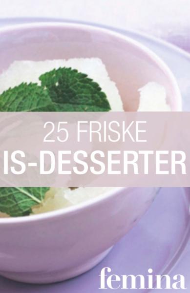 25 friske is-desserter (E-bog)