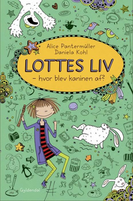 Image of Lottes liv 4 - Hvor blev kaninen af? (Bog)
