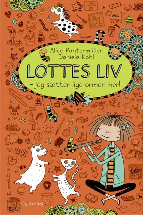 Image of Lottes liv 3 - Jeg sætter lige ormen her! (Bog)