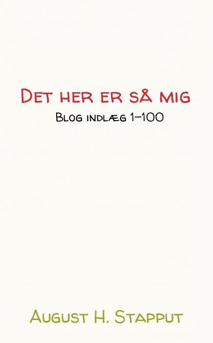 Image of Det her er så mig (Bog)