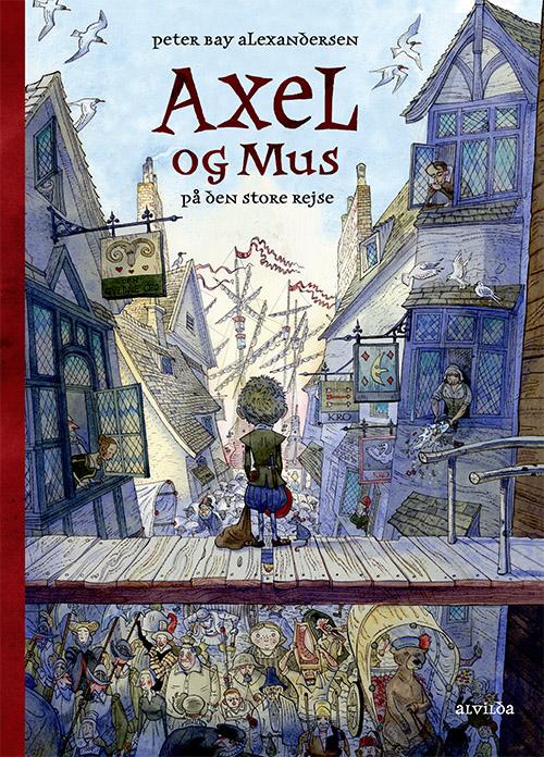 Image of   Axel og mus på den store rejse (Bog)
