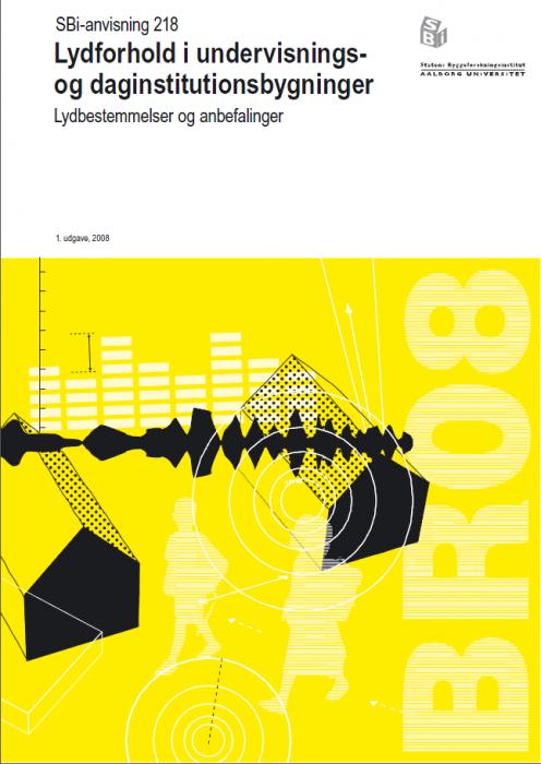Lydforhold i undervisnings- og daginstitutionsbygninger (E-bog)