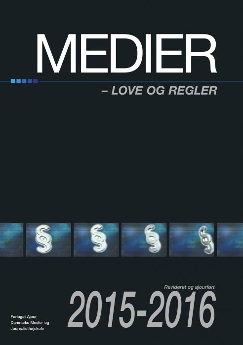 Image of   Medier love og regler 2015-2016 (E-bog)