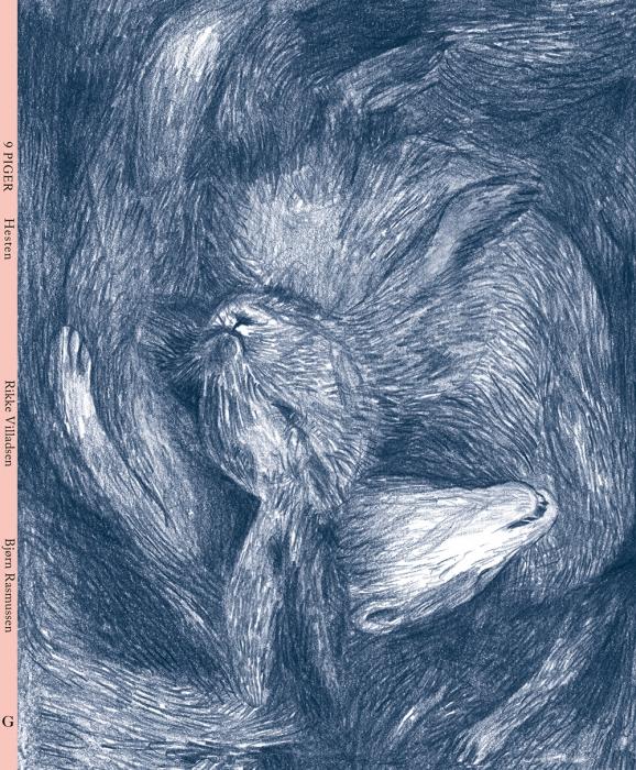 Image of   9 piger - Hesten (Bog)