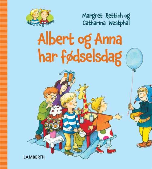Image of   Albert og Anna har fødselsdag (Bog)