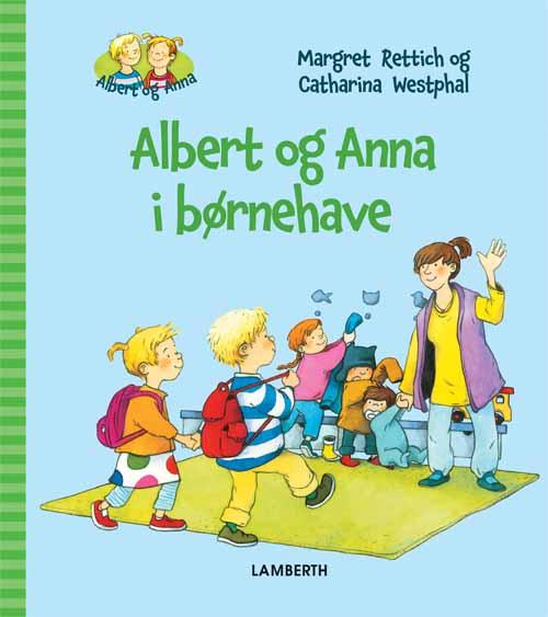 Image of   Albert og Anna i børnehave (Bog)