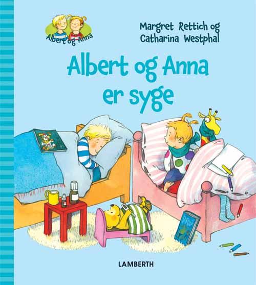 Image of   Albert og Anna er syge (Bog)